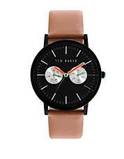 Smart Casual Round Leather Watch