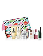 Receive your choice of 7-piece bonus gift with your $27.5 Clinique purchase