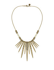 Tribal Spirit Spiked Beaded Necklace