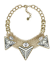 Tribal Spirit Pyramid Necklace