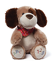 ABC123 Doggie Animated Plush Toy