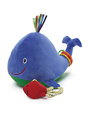Color Fun Aquarium Whale Stuffed Animal