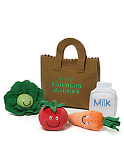 My First Farmers Market Bag Playset