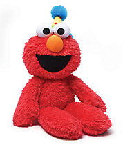 Happy Birthday Take Along Buddy Elmo Plush Toy