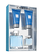Four-Piece Chrome Eau de Toilette Essentials Gift Set