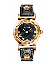 Ladies Vanity Watch with Calfskin Strap