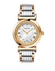 Ladies Two-Tone Vanity Watch