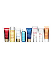 Your Choice of 2 Deluxe Travel Sized Skincare Products with any $75 Clarins Purchase
