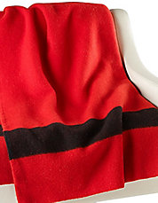 HBC Signature Collection Scarlet Wool Blanket