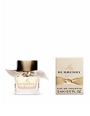 Your gift  with large spray purchase of $90 or more from the Burberry Womens fragrance collection