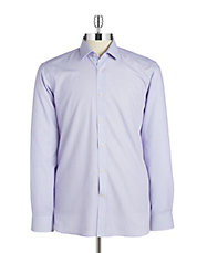 Micro Grid Dress Shirt