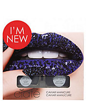 Caviar Manicure Set - Black Pearls