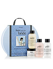here comes the bride set