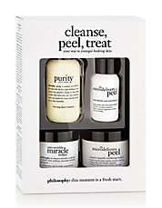 Cleanse Peel Treat Trial Kit