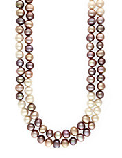 Multicolor Pearl Necklace