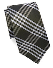 Silk Plaid Tie