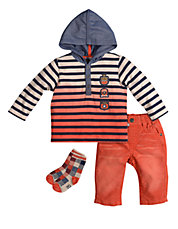 Baby Boys Jet Set Three-Piece Set