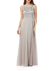 Beaded Empire Gown