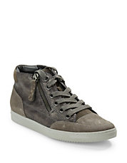 Crosby Suede and Leather Sneakers
