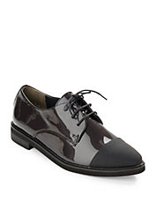 Emmy Lace Cap Toe Oxfords
