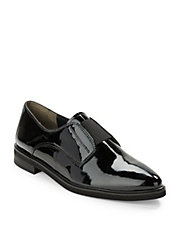 Evana Patent Leather Loafers