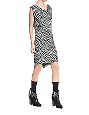 Sexy Sia Houndstooth Dress