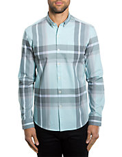 Regular Fit All in One Plaid Sportshirt
