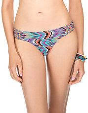 Vintage Beauty Side-Tab Swim Hipster