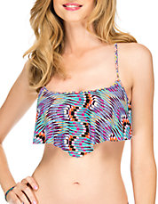 Vintage Beauty Flutter Swim Top