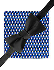 2-Piece Bow Tie and Pocket Square Set