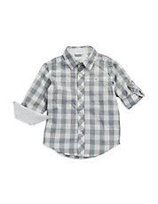 Boys 8-20 Checkered Sport Shirt