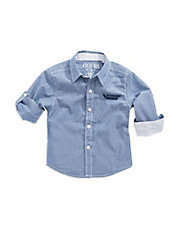 Boys 8-20 Striped Sport Shirt