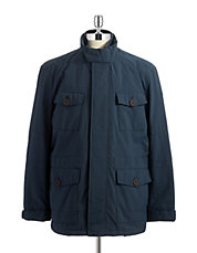 Stand Up Collar Field Coat