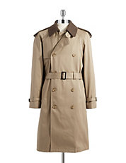 Warmer Accented Trench Coat