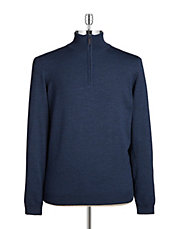 Mockneck Merino Wool Sweater
