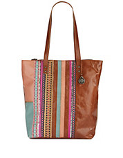 Palisade Patchwork and Leather Tote