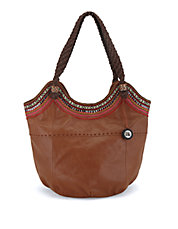 Indio Large Leather Tote