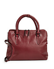 Genevieve Leather Satchel