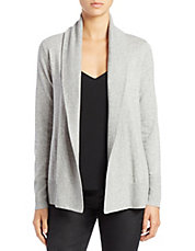 Organic Cotton-Cashmere Cardigan
