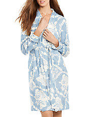 Short Shawl Collar Robe