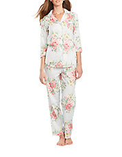 2-Piece Floral Pajama Set