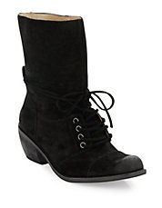 Portland Suede Ankle Boots