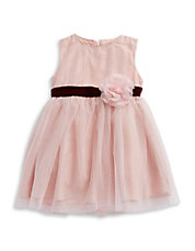 Baby Girls Glitter Flower Dress