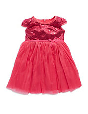 Baby Girls Sequined Party Dress
