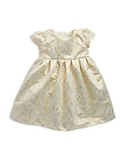 Baby Girls Paisley Shimmer Dress