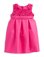 Girls 2-6x Ruffled Sequined Dress