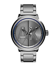 Gunmetal IP Stainless Steel Bracelet Watch