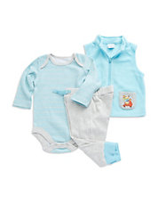Three-Piece Puppy Vest Set
