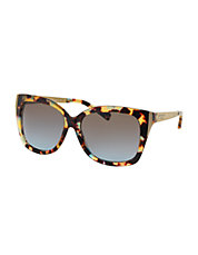 Taormina Modern Screw Square 56MM Sunglasses