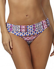 Romance Shirred Banded Hipster Bottoms